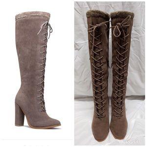 Porsha Sweater Trim Boots